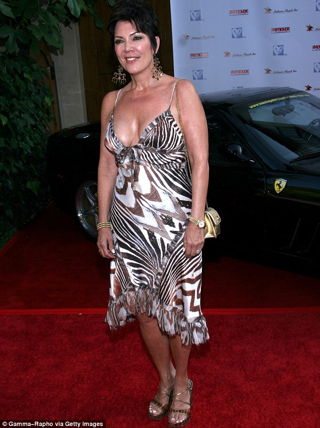 Kris jenner bare breast pictures